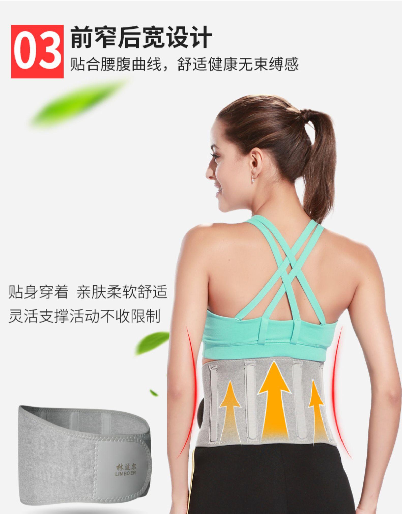 腰疼护腰带椎间盘薄款成人保暖防寒老年缓解女士腰託突出四季详细照片