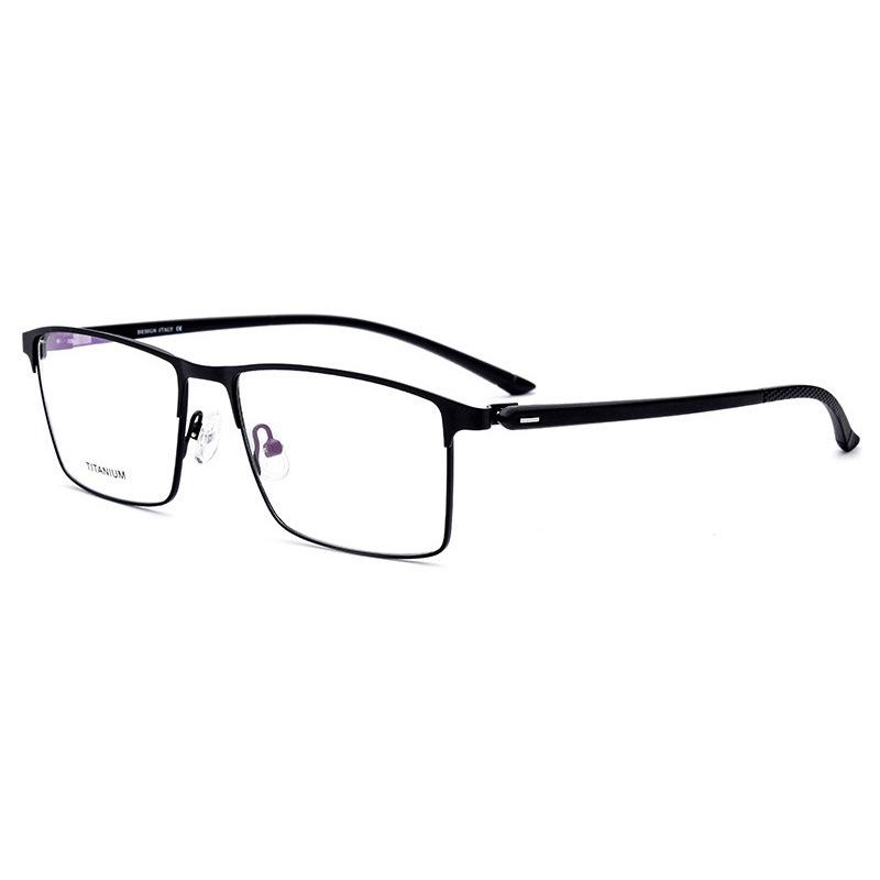 新款TR90眼镜框材质女士全框方形男士眼镜架可配a材质镜片抗磨光学