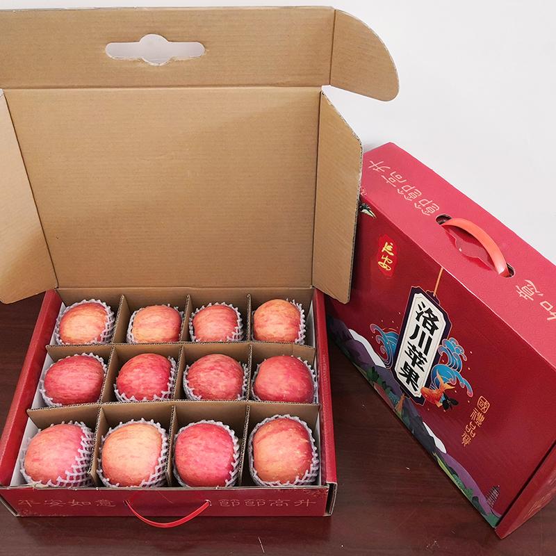【礼盒装】洛川冰糖心苹果12枚