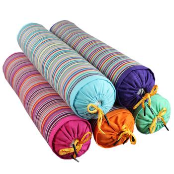 糖果枕颈椎枕荞麦枕圆柱枕头