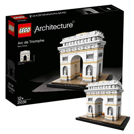 LEGO乐高 建筑系列 21036  凯旋门