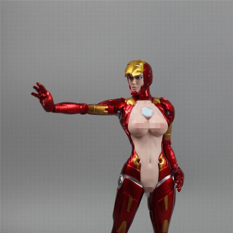 小麥   現貨 X-FACTION 1/9 鐵娘子 IRONLADY MK8 女鋼鐵俠 雕像模型手辦
