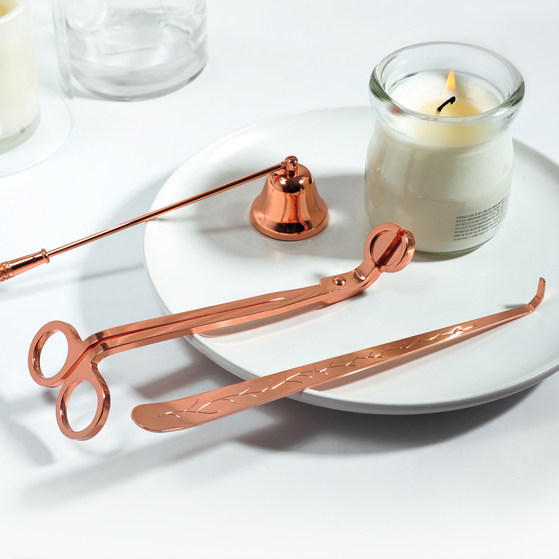 Rose gold horn set of 5