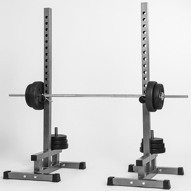 Used Squat Rack >> Usd 69 18 Elsie Split Squat Rack Barbell Rack Bench Rack With