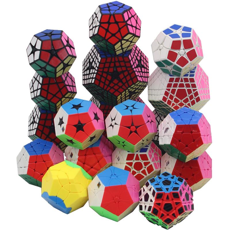 圣手五魔方三阶四阶五阶六阶七阶五魔方系列顺滑益智趣味儿童玩具