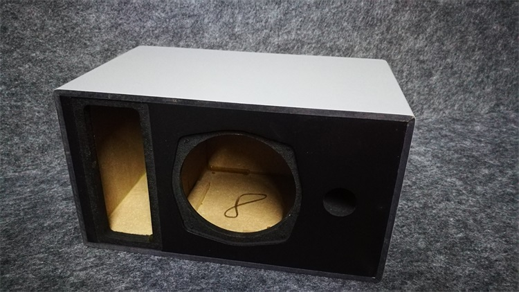 4 5-inch subwoofer empty box speaker empty box with guide tube independent power amplifier storehouse can be changed 2-way semi-finished products