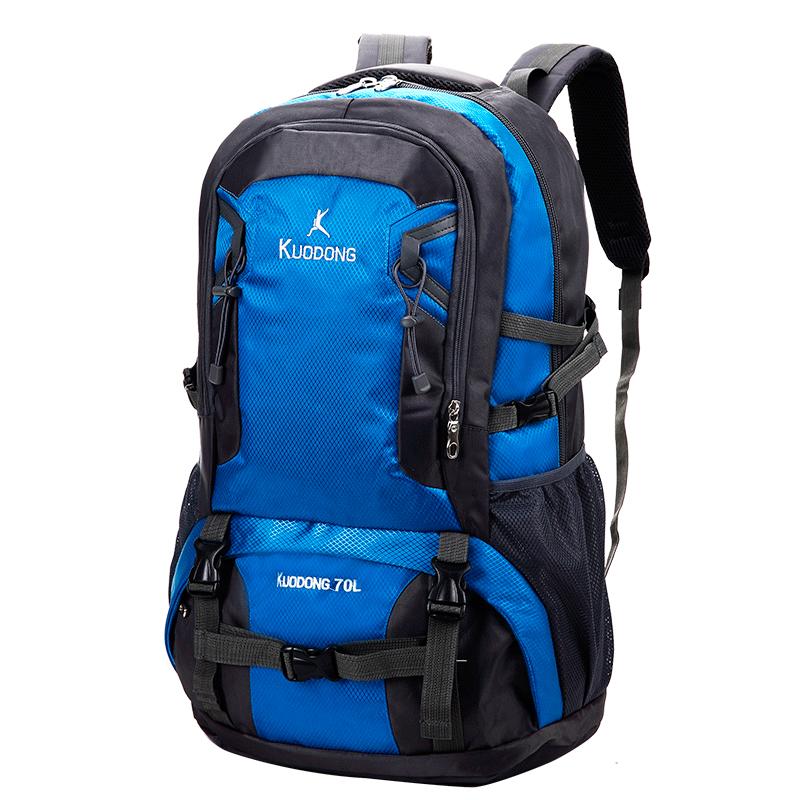 Men Women Outdoor Shoulder Bag Multi-functional Large Capacity Travel Hiking Bag