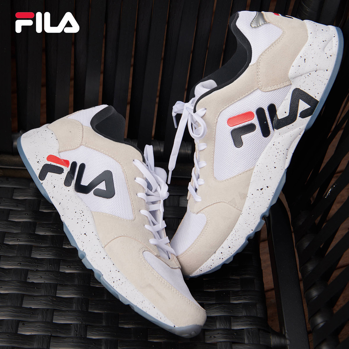 USD 231.79] FILA music genuine MIND BENDER sports casual