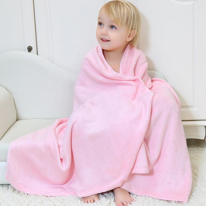 安耐士新生婴儿浴巾竹纤维浴巾洗澡巾