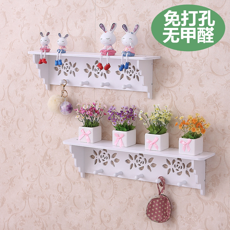 USD 6.52] Creative pastoral wall partitions hollow key wall ...