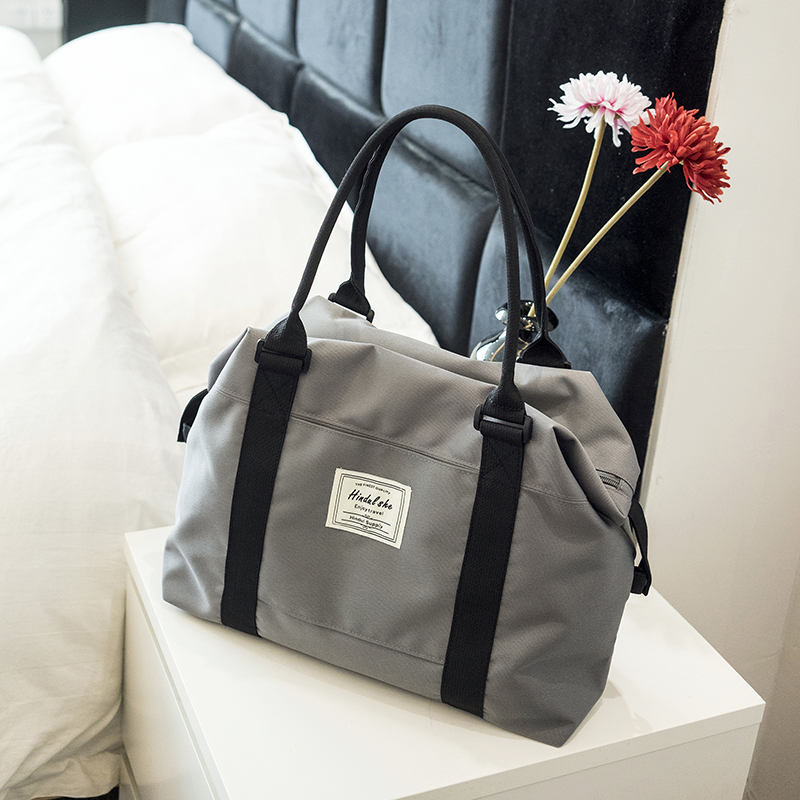 Gray Attention Shop To Send Storage Bag