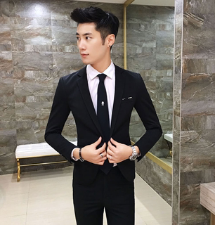 155 Short, Small Size XS Size Small Small Slim Men's Suit Jacket Short Formal Suit Small Suit Trend
