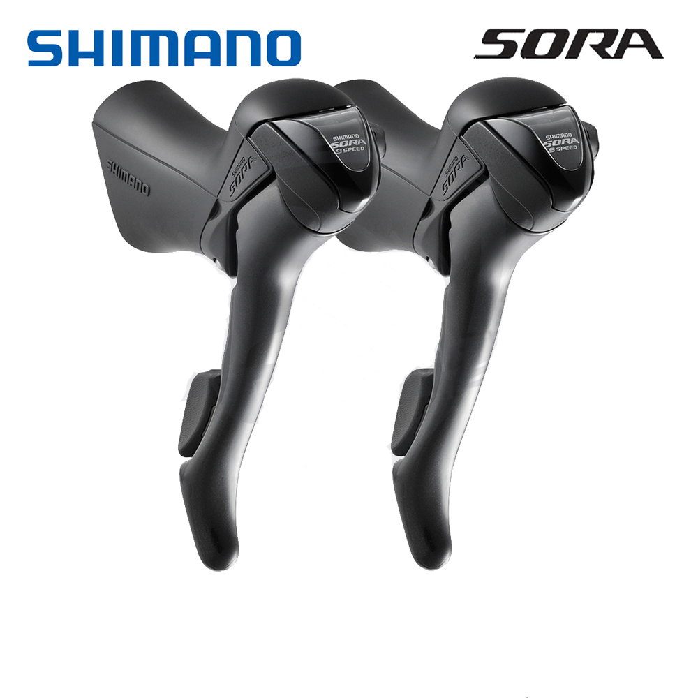 Shimano Sora ST-3500 2x9 3x9 speed Shift Brake Levers Set Right /& Left w//Cable