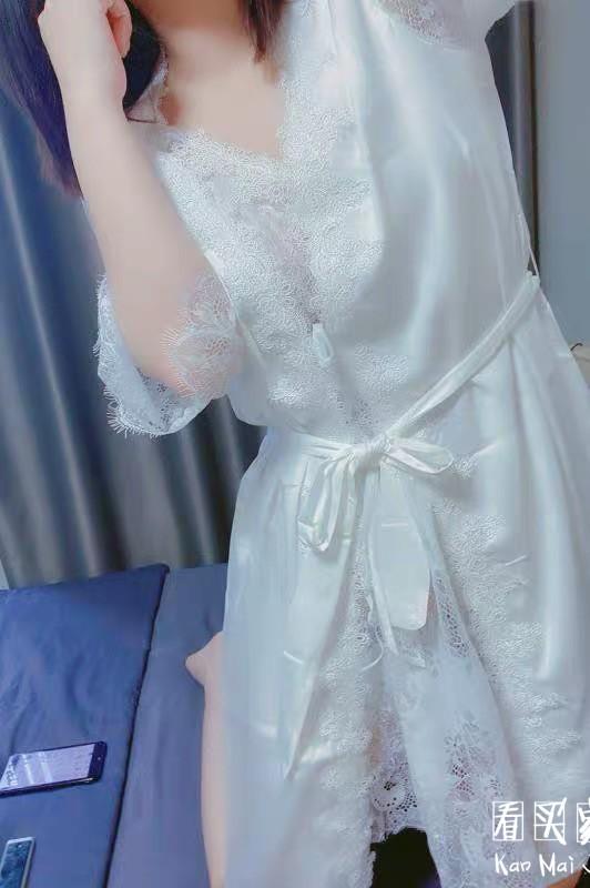性感蕾丝透视睡裙买家秀,本想诱惑老公的,没想到把自己给诱惑住了2