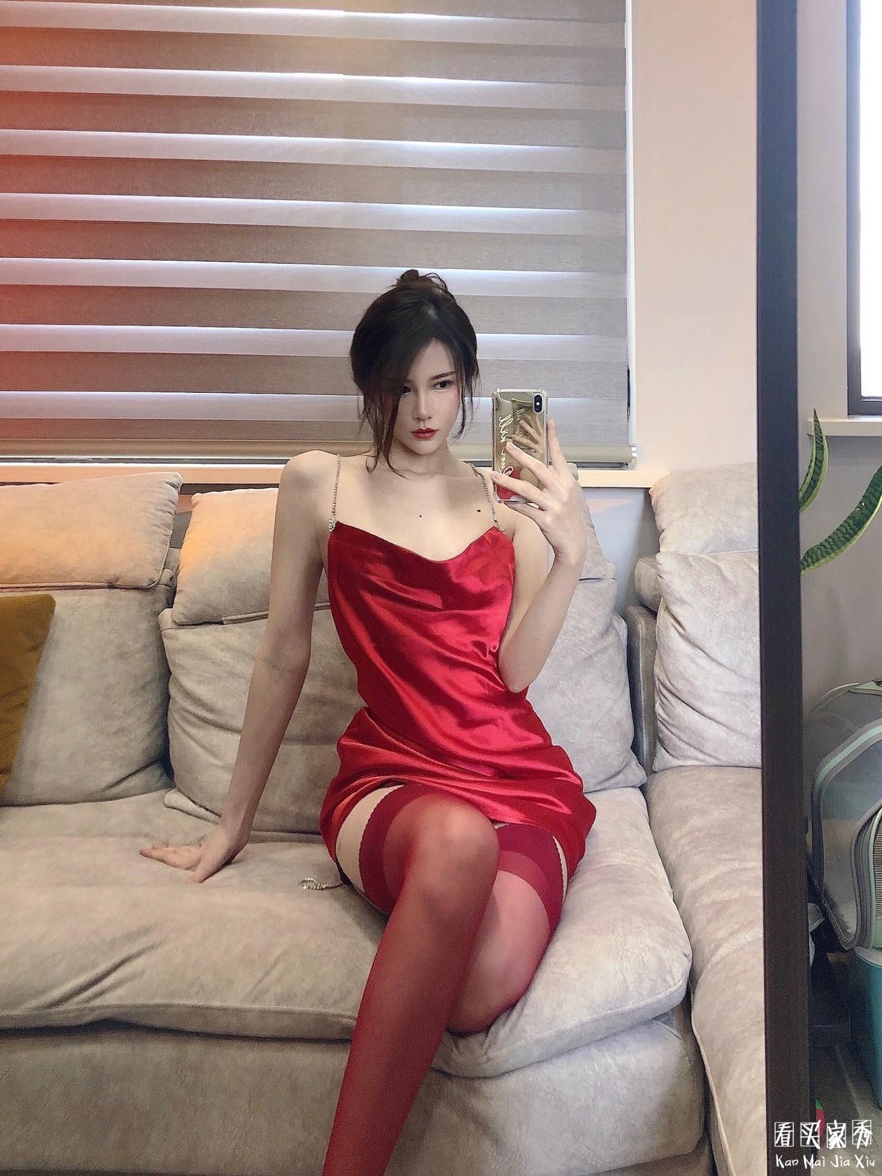 陈嘉欣同款连衣裙买家秀,性感呀!颜色也很迷人5