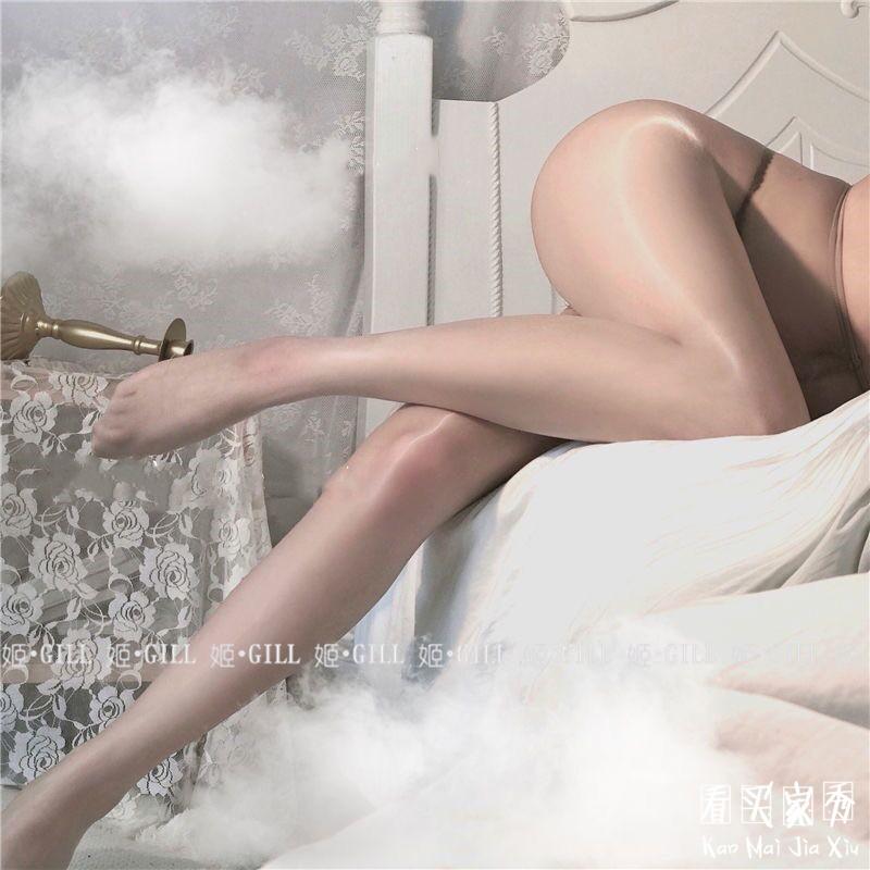 超薄珠光连体丝袜,性感小野猫的必备神器5