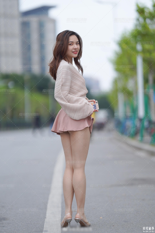 [街拍美女]街拍超短裙露臀美女13