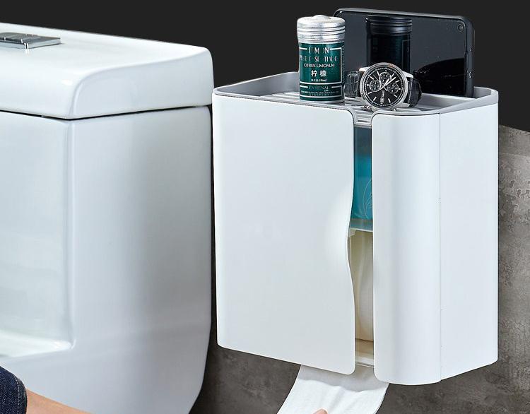 好看实用的纸巾盒,才是卫生间标配2
