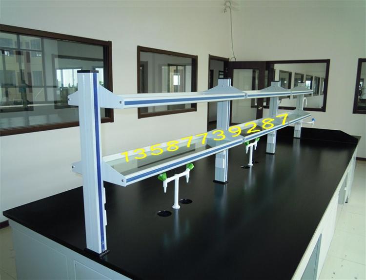 Оборудование лабораторий Прямые заводская лаборатория реагент для одежды алюминиевый стеклянная полка реагента столик Центральный стол реагент для одежды стенд