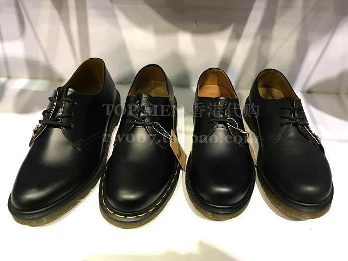 100% high quality best sale uk availability USD 231.27] Hong Kong purchasing Dr Martens Martin 3 hole ...