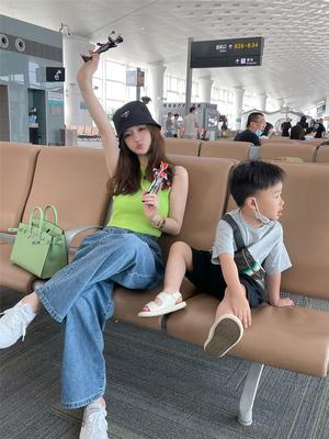 taobao agent XUELI Sydney women's clothing hot girl short inner knit vest female summer Korean style slim slimming sleeveless top
