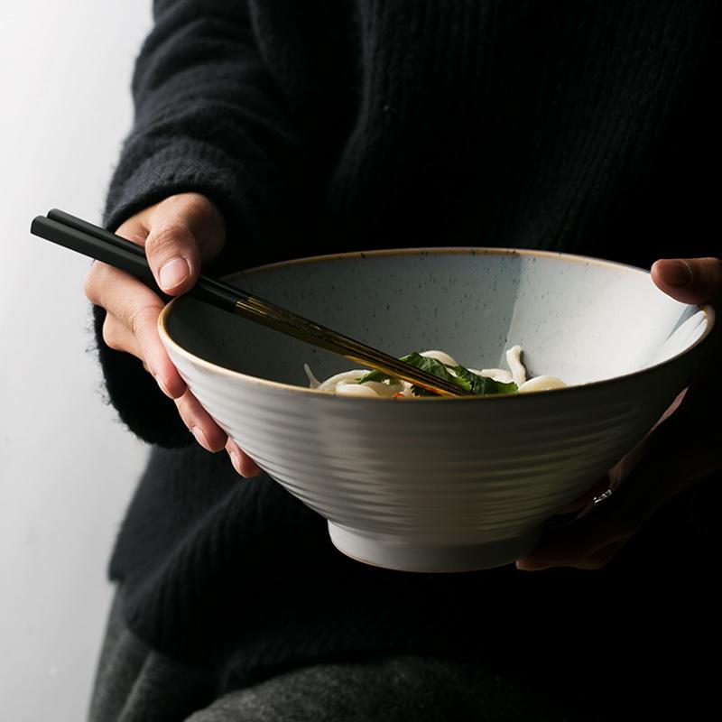 朵颐创意陶瓷家用瓷碗面碗餐具面碗碗汤碗大碗碗创意沙拉碗意饭碗