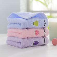 【靓万】A类纯棉儿童毛巾*3条