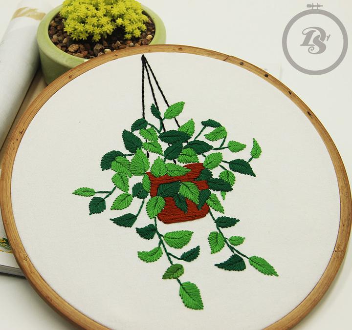 布艺手工刺绣diy材料包
