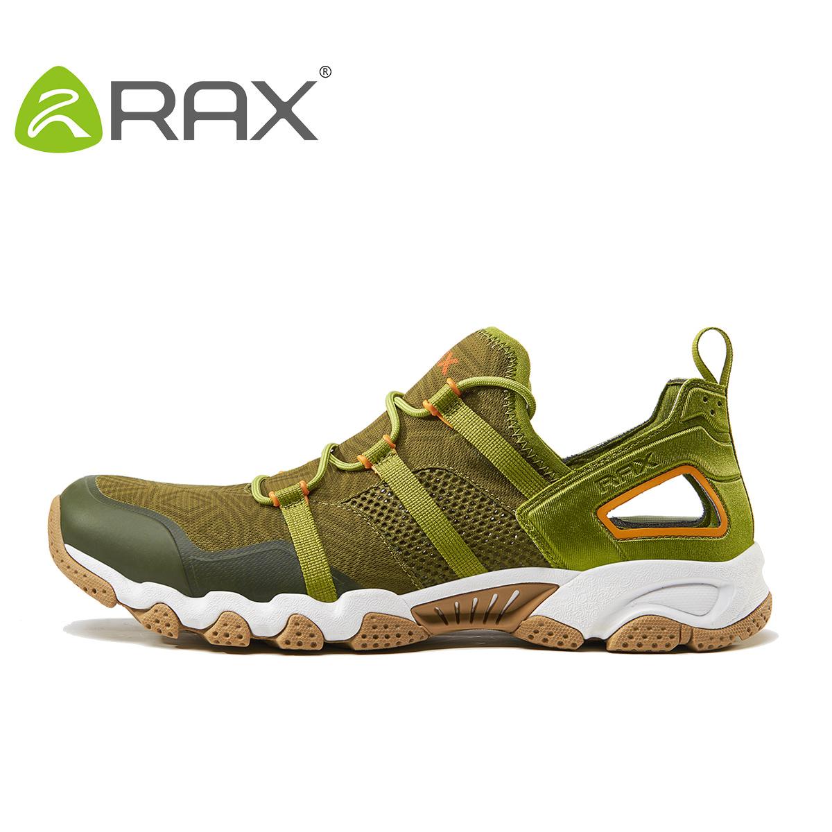 Кроссовки облегчённые ракс весной и летом, река треккинг обувь мужчины скорость вмешательства воды обувь женщин дышащий Пешие прогулки обувь не скользит на открытом воздухе рыбалки обувь