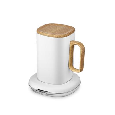万慕自动搅拌55度水恒保温暖暖手机无线快充电器加热魔法杯垫牛奶