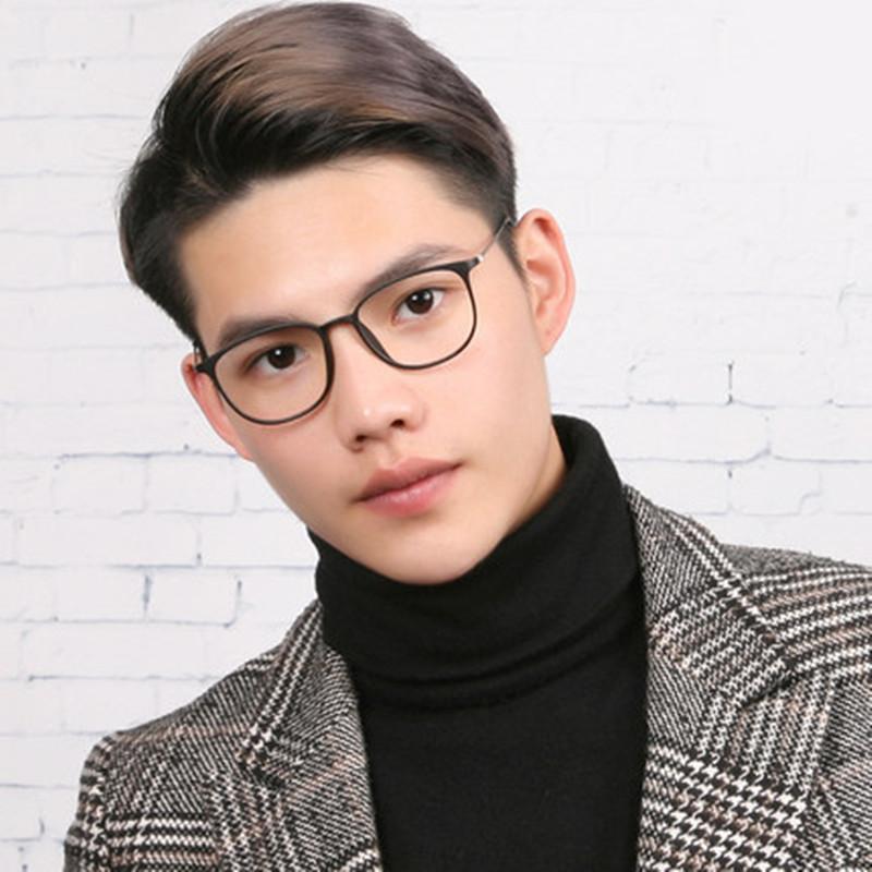 防蓝光免费配近视眼镜框架男女网红平光镜