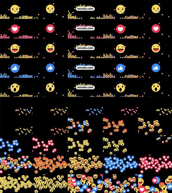 AE脚本-3000+文字标题场景排版图形视频转场图标MG动画元素包V3