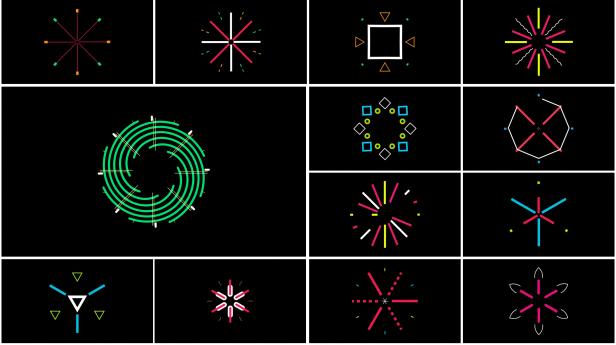 AE脚本-3600组字幕条标题图形元素背景转场社交网络图文排版设计动画插图(26)