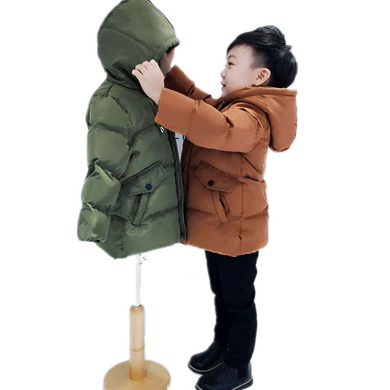 5f26a74ad USD 75.39  2 boys padded coat 3 children s down jacket 4 Baby long ...