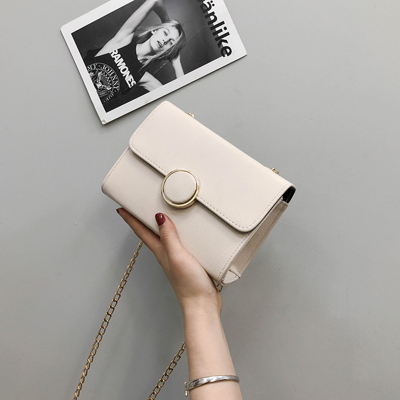 2018 mùa xuân và mùa hè phụ nữ mới túi nhỏ Hàn Quốc phiên bản của túi nữ túi hình vuông nhỏ mini túi chuỗi túi vai túi Messenger túi