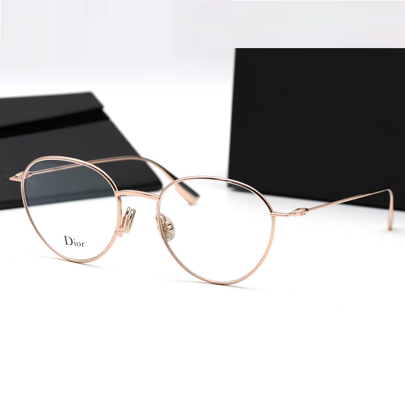 b2eb109fc1 Round Christian Dior glasses frame men and women Stellaire O2 Dior ...