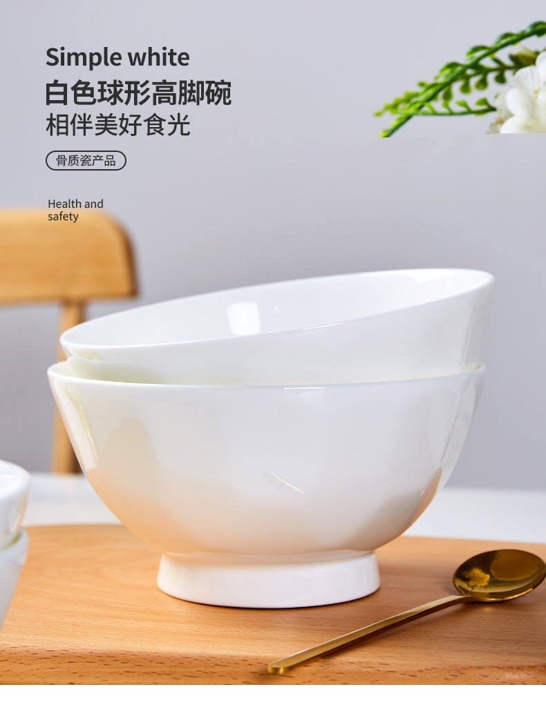 White ipads bowls bowl of soup bowl rainbow such use contracted household ceramics Nordic home meal ideas spherical bowl bowl