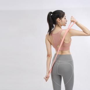 拉力绳拉力器练肩女开背高弹拉力绳