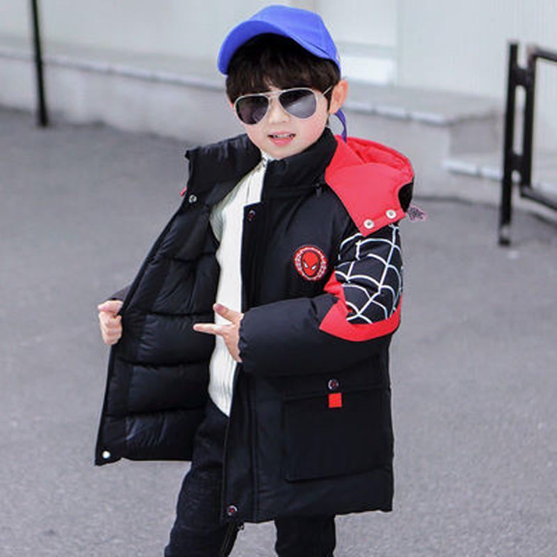童装男童冬装发光棉服外套2020新款儿童加厚棉衣小童洋气帅气棉袄
