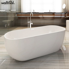 Wo Tema-standing bath adult household toilets Continental acrylic tub small apartment 1.2-1.8 meters