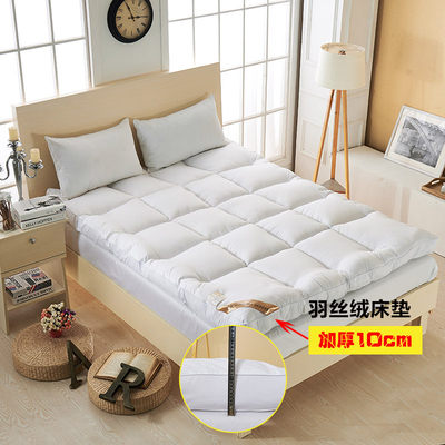 Mattress Thick velvet feather soft tatami