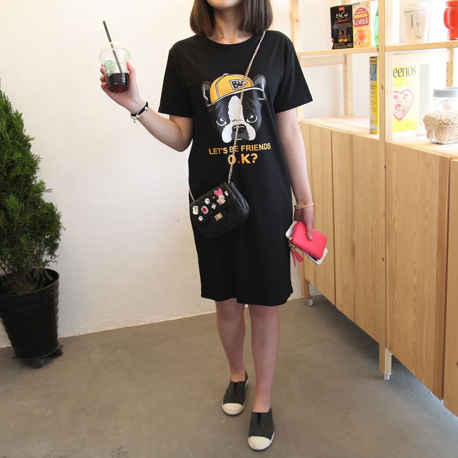印花春夏韩国修身显瘦雪纺连衣裙波西米亚海边度假沙滩裙长裙大码