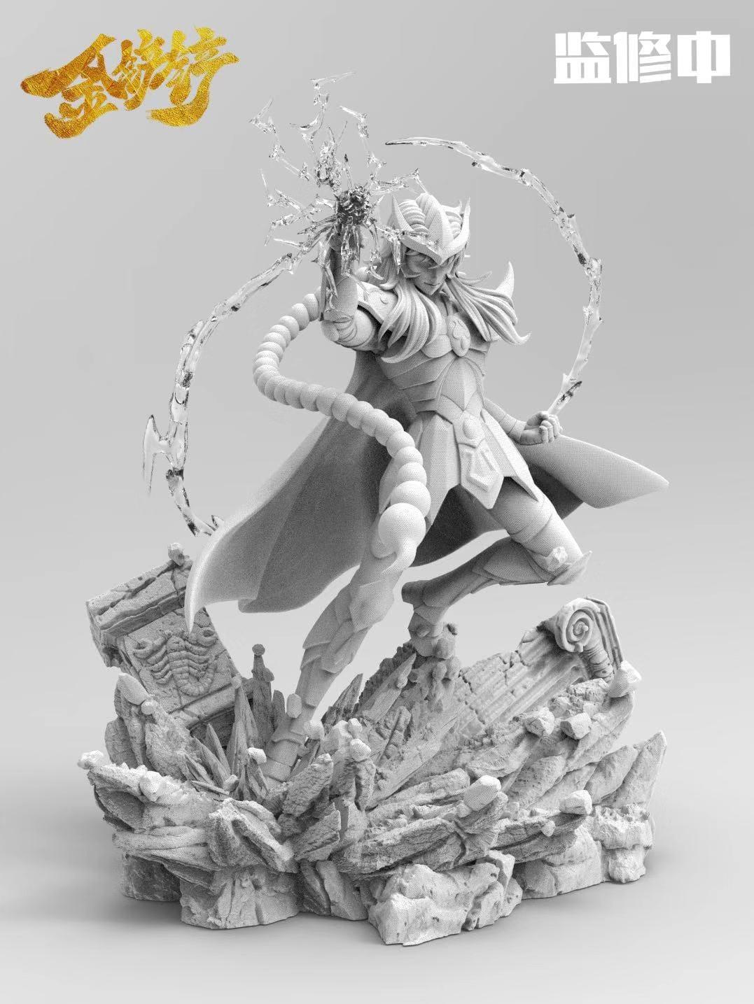 【怡紅】金鏟鏟 天蝎座 圣斗士星矢GK 限量雕像手辦模型