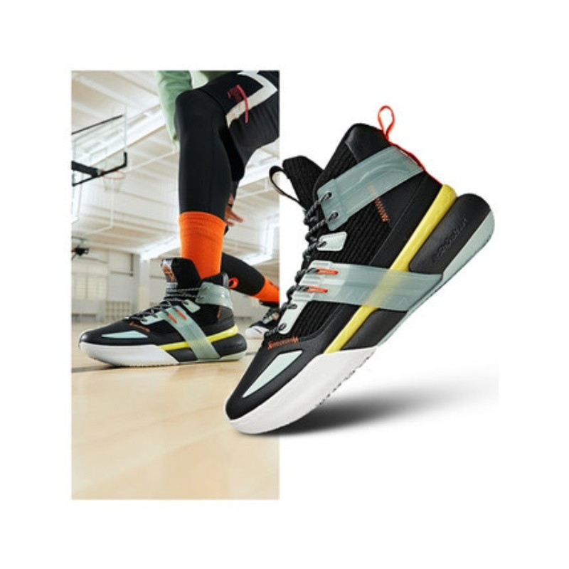 安踏速战4篮球鞋男2021春季新款男士