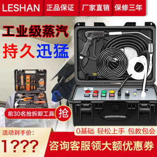 Leshan air conditioning cleaning machine full set of household appliance cleaning integrated machine commercial multi-function high-pressure high-temperature steam cleaning machine