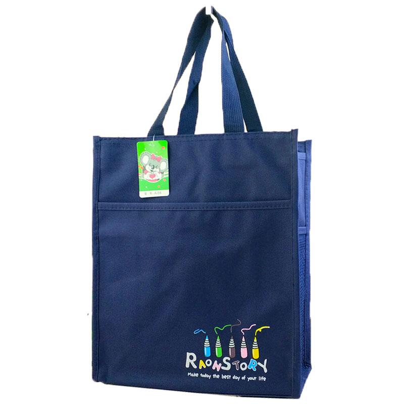 Waterproof canvas tutorial bag bag tutorial bag pupils book