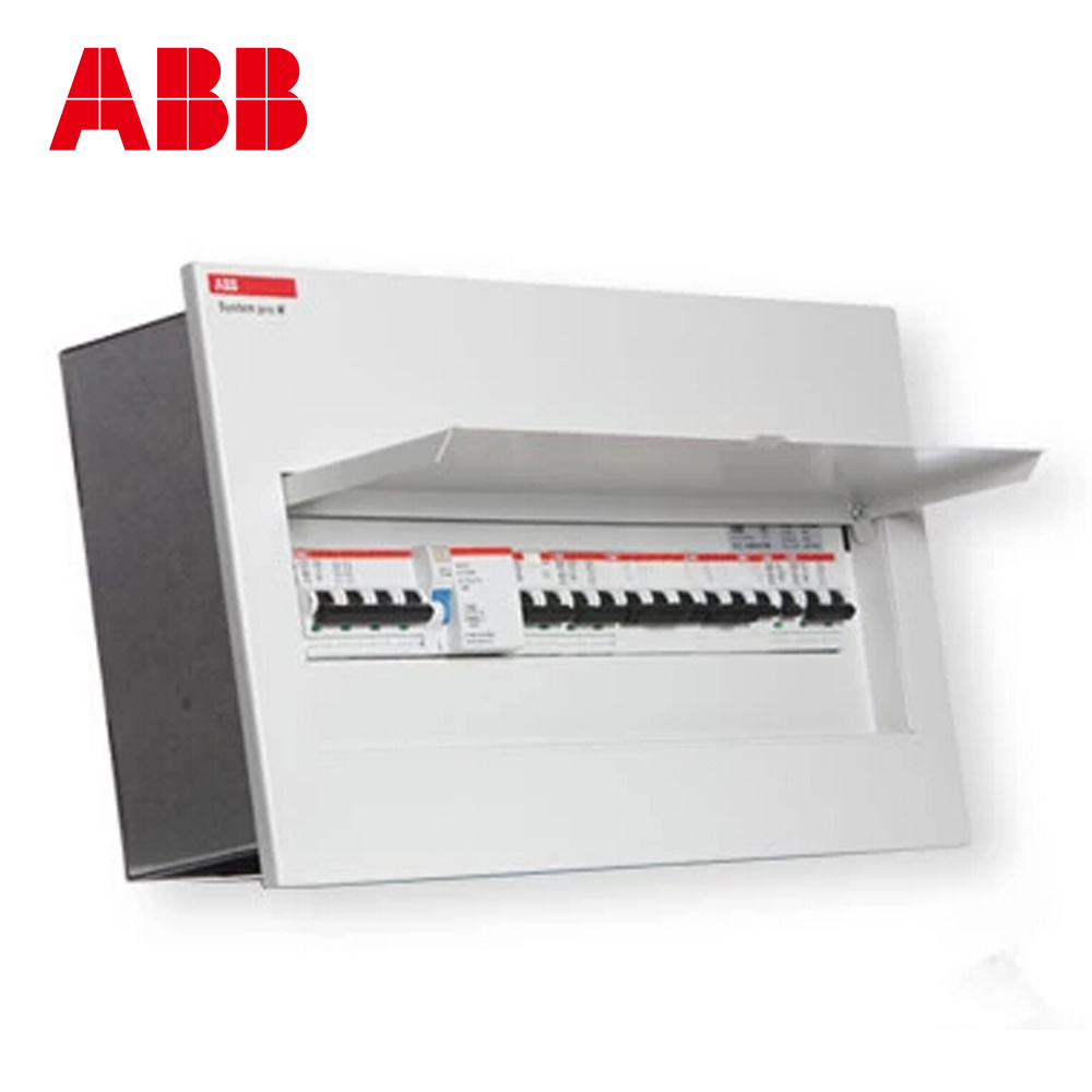 Usd 3254 Abb Distribution Box 10 Circuit Strong Electric Wiring Concealed Empty Open Acm10 Fnb All