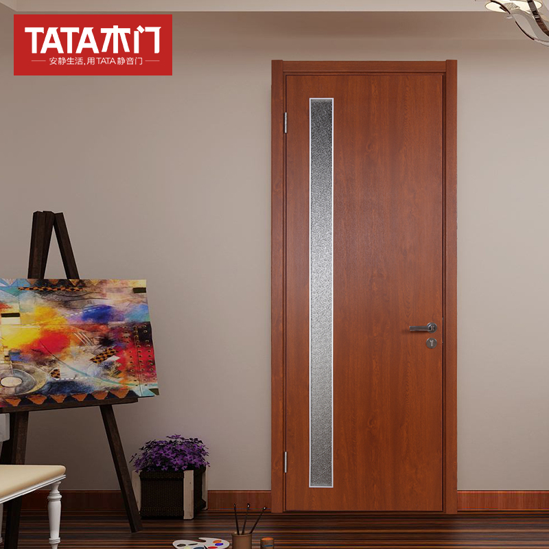 Tata Wood Door Interior Living Room Set Doorman Room