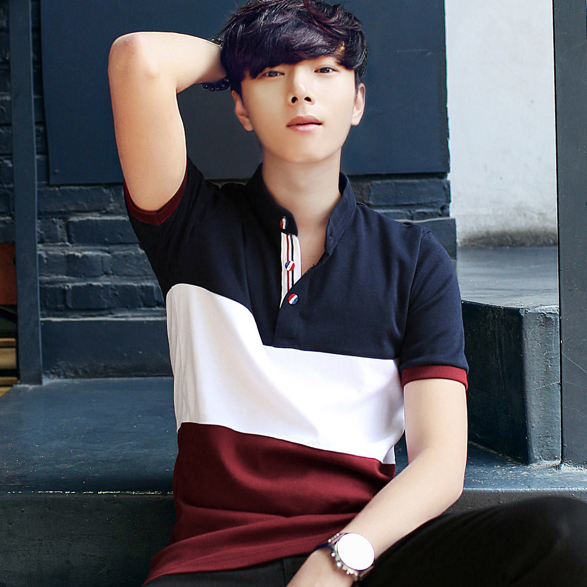 Usd 29 30 2019 Summer Men S Short Sleeved T Shirt Korean Trend