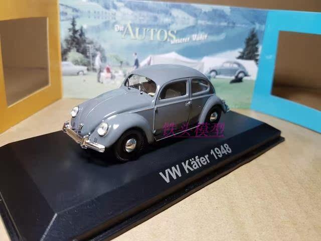 DIE CAST VW VOLKSWAGEN KAFER 1948  ATLAS 1//43